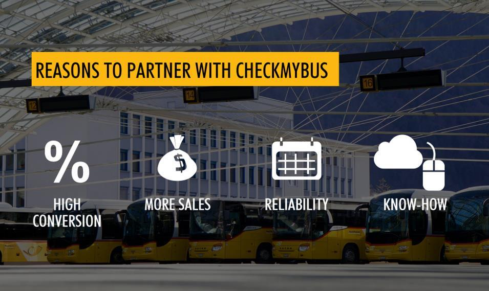 CheckMyBus partnership benefits